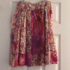 Cute, flirty BoHo festival summer skirt 💕🌈😎